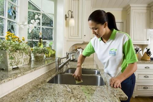 5Cleaner at kitchen sink_full | تمیز کردن سینک ظرفشویی | تخلیه چاه | لوله بازکنی, لوله باز کنی تهران, آموزش لکه گیری
