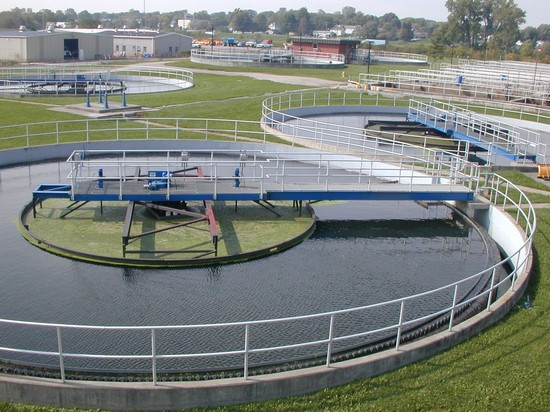 clarifiers- Wastewater