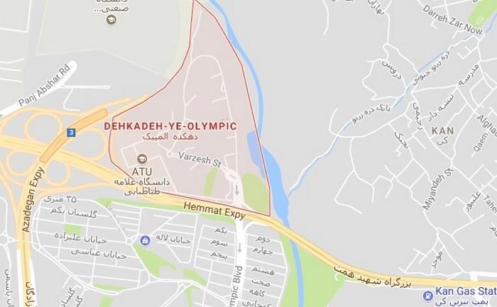 تخلیه چاه دهکده المپیک