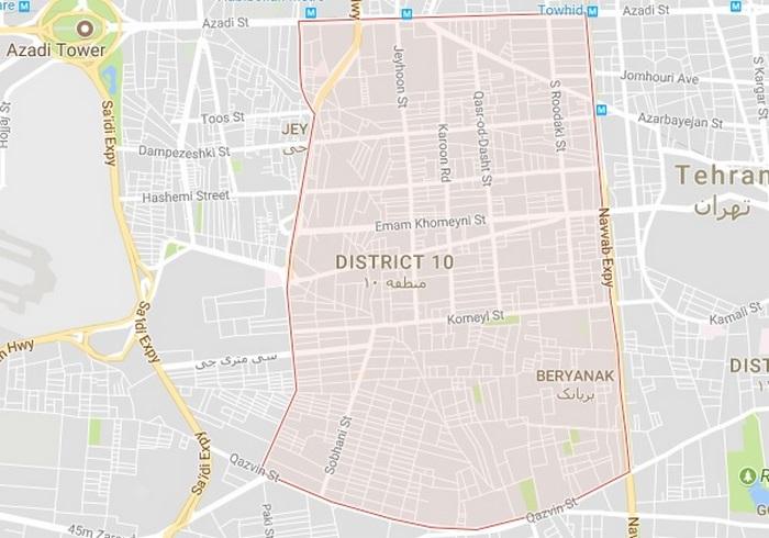 لوله بازکنی منطقه 10 تهران
