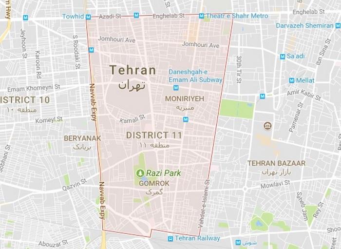 تخلیه چاه منطقه 11 تهران