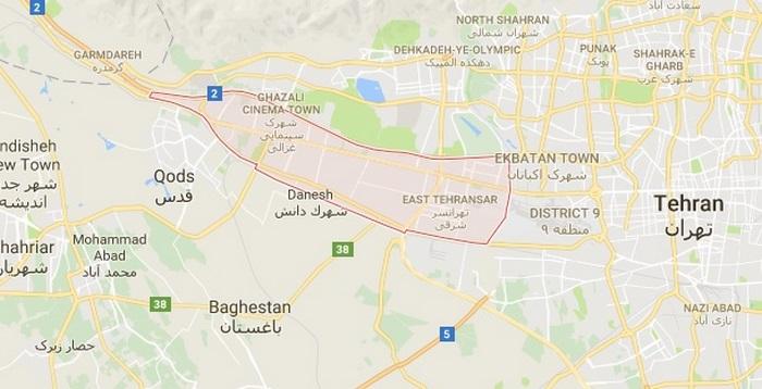 تخلیه چاه منطقه 21 تهران