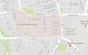 تخلیه چاه چشمه شهر