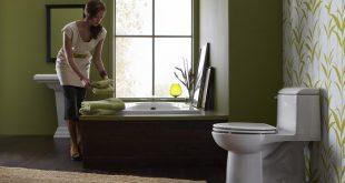 نحوه تمیز کردن توالت فرنگی