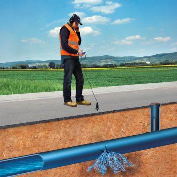 تشخیص نشتی آب با دستگاه