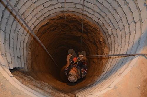 حفر چاه فاضلاب در منطقه 1 تهران