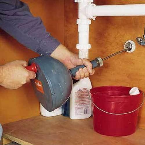 رفع گرفتگی لوله آشپزخانه پاسداران